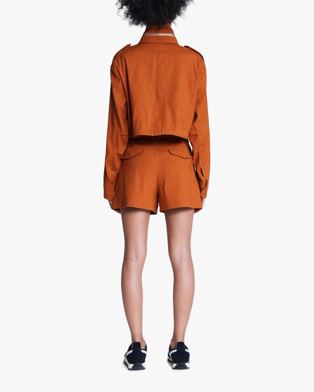 rag & bone River Linen Shorts 3