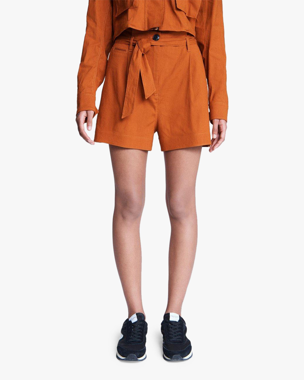 rag & bone River Linen Shorts 5