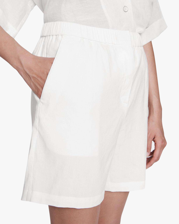 rag & bone Maye Linen Shorts 4