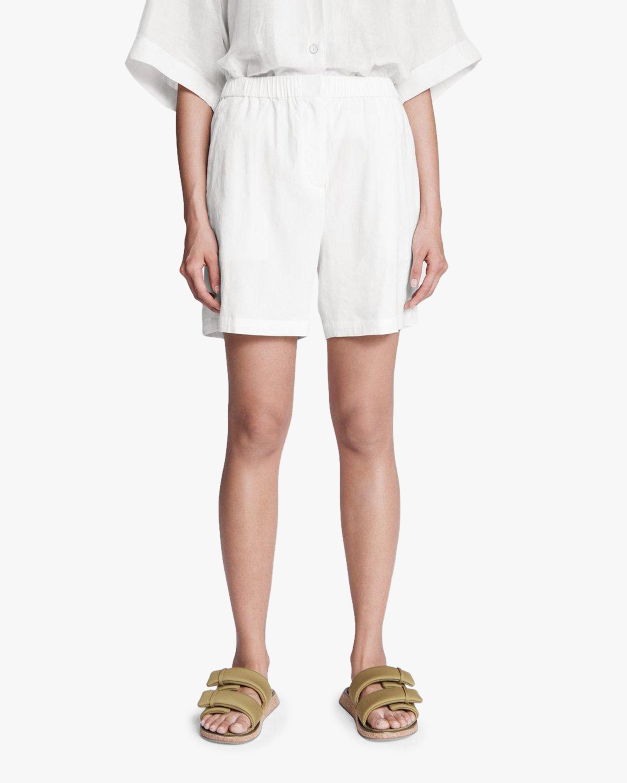 rag & bone Maye Linen Shorts 5