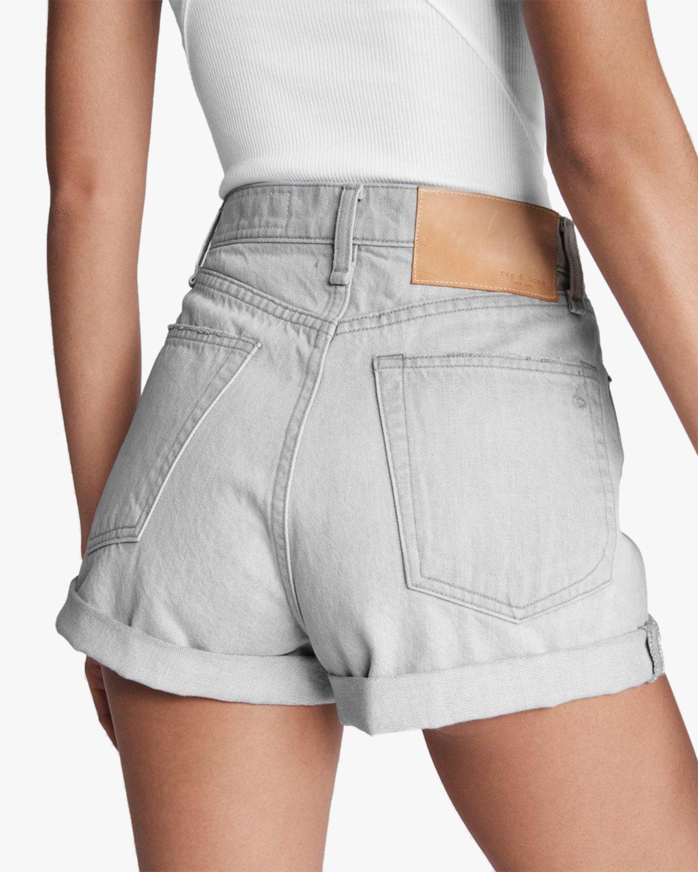 rag & bone Maya High-Rise Shorty Shorts 5