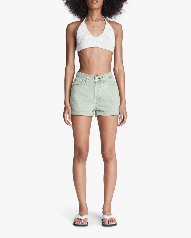 rag & bone Maya High-Rise Shorty Shorts 2