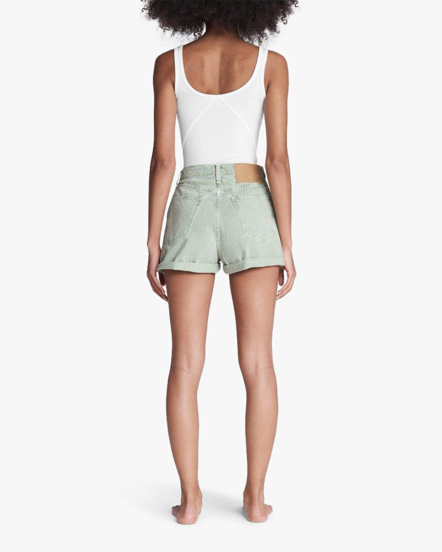rag & bone Maya High-Rise Shorty Shorts 3