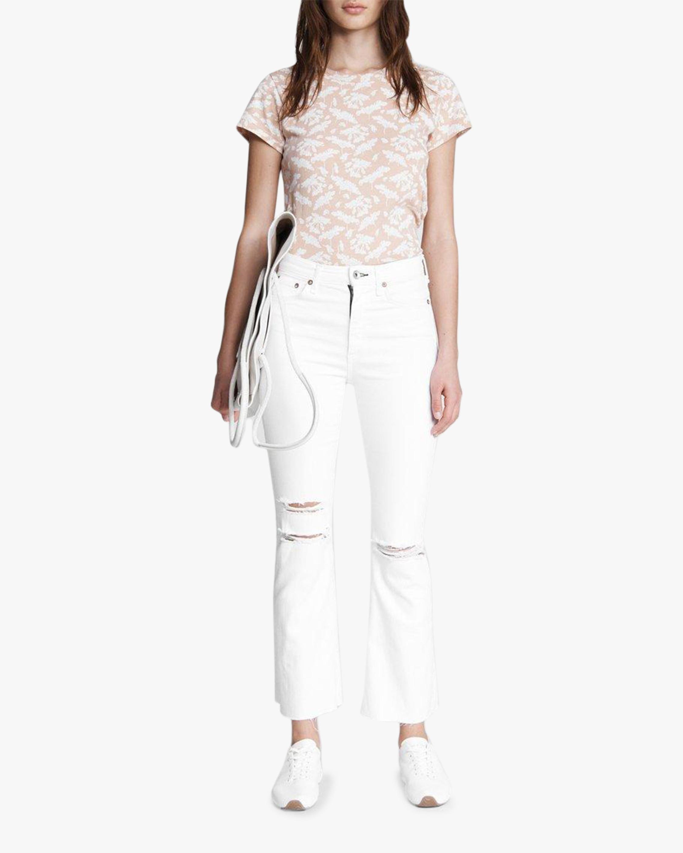 rag & bone Nina High-Rise Ankle Flare Jeans 1