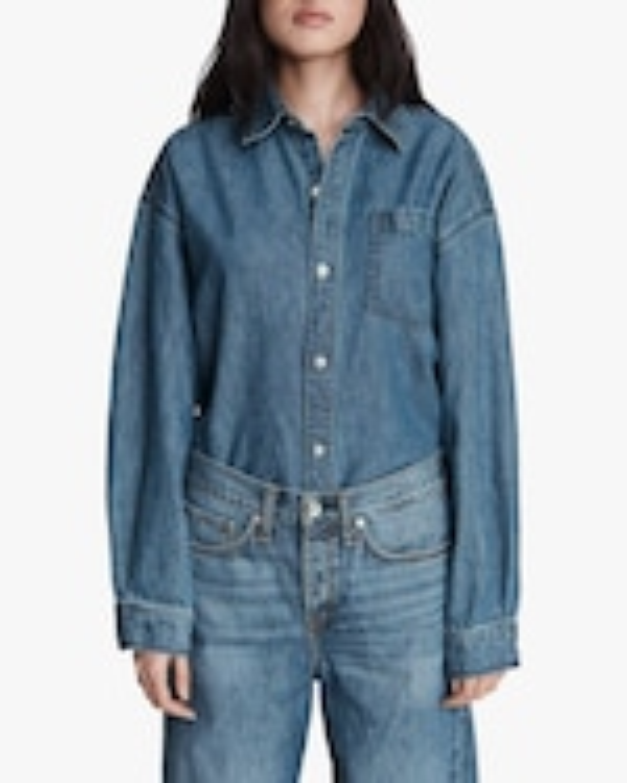 rag & bone Oversized Button-Up Shirt 4