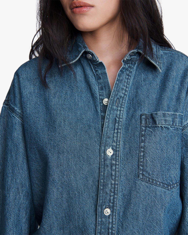 rag & bone Oversized Button-Up Shirt 5