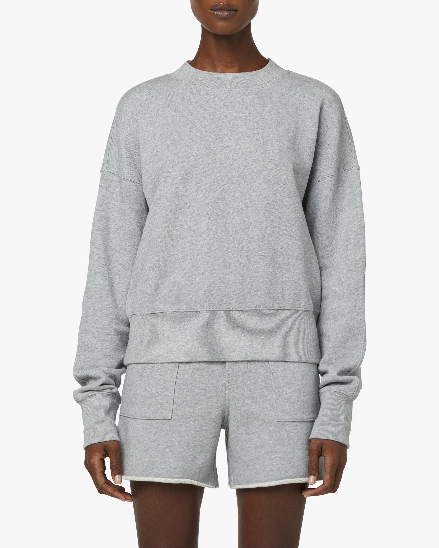 Hudson Back-Cutout Sweatshirt 1