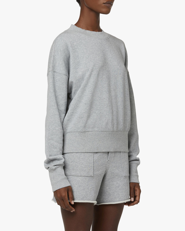 Hudson Back-Cutout Sweatshirt 2