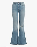 Hudson Holly High-Rise Flare Jeans 0