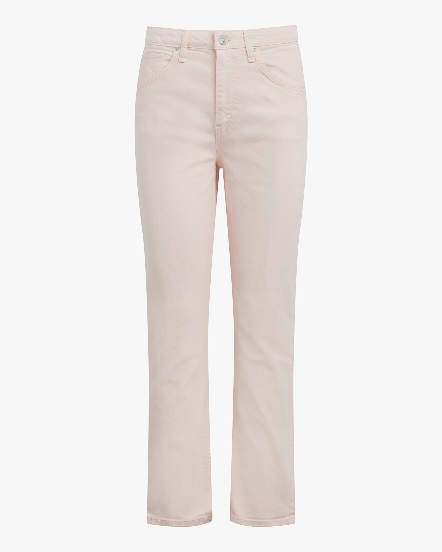 Hudson High-Rise Straight Crop Jeans 0