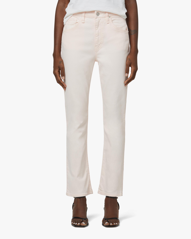 Hudson High-Rise Straight Crop Jeans 1