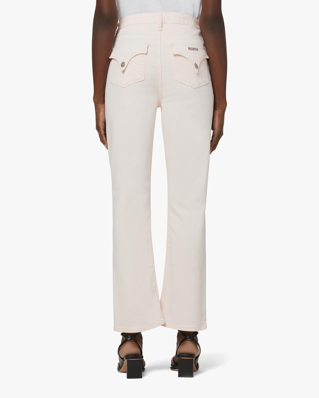 Hudson High-Rise Straight Crop Jeans 3