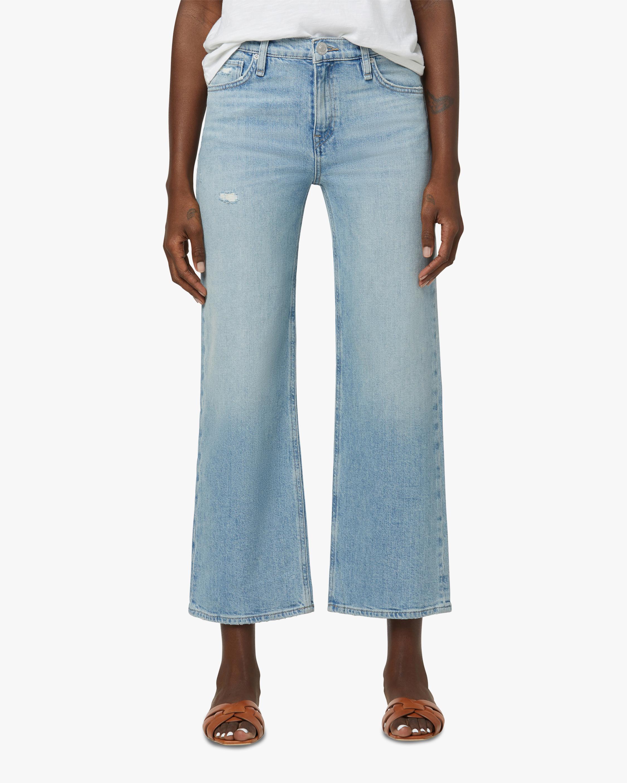 Hudson Rose High-Rise Wide Leg Crop Jeans 1