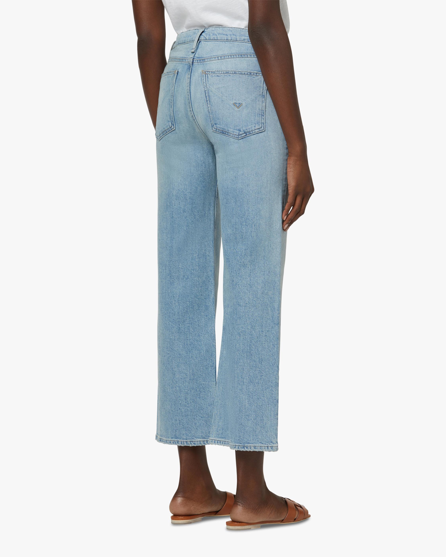 Hudson Rose High-Rise Wide Leg Crop Jeans 3