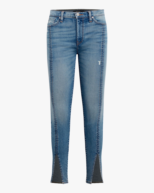 Hudson Barabara High-Rise Skinny Crop Jeans 1