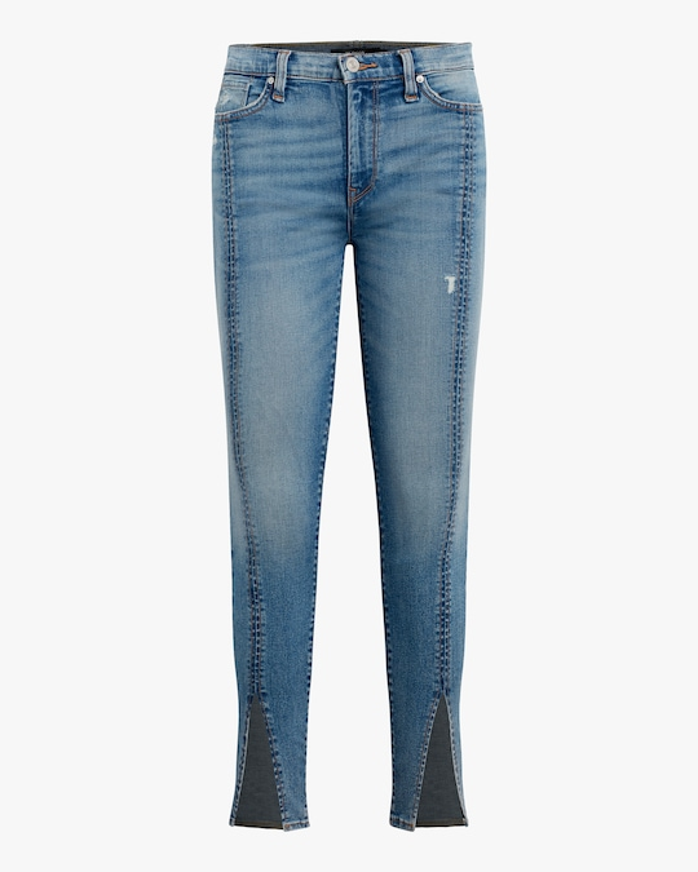 Hudson Barabara High-Rise Skinny Crop Jeans 0