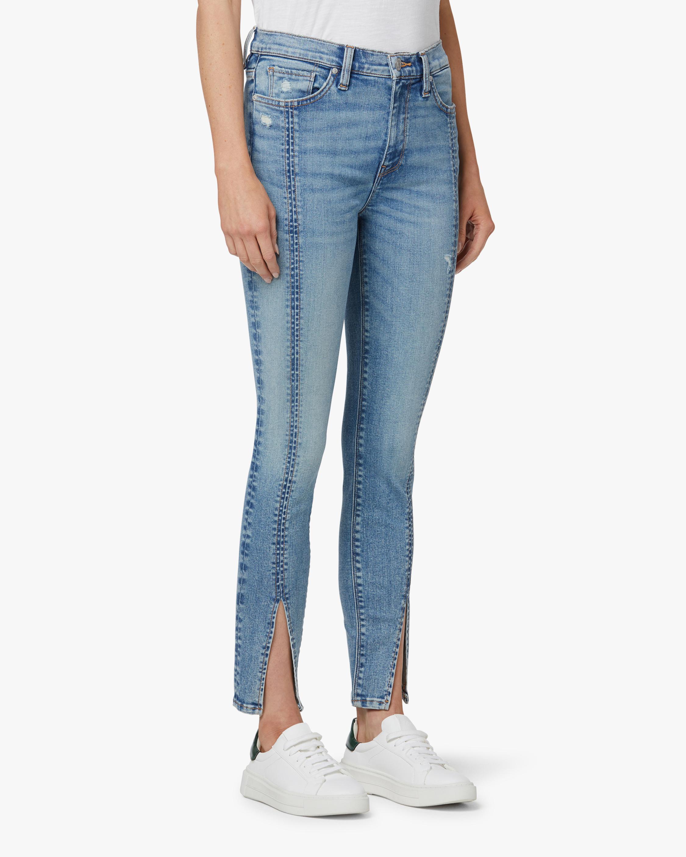 Hudson Barabara High-Rise Skinny Crop Jeans 2