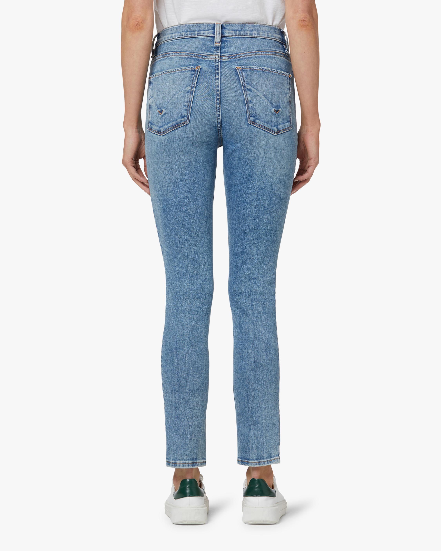 Hudson Barabara High-Rise Skinny Crop Jeans 4