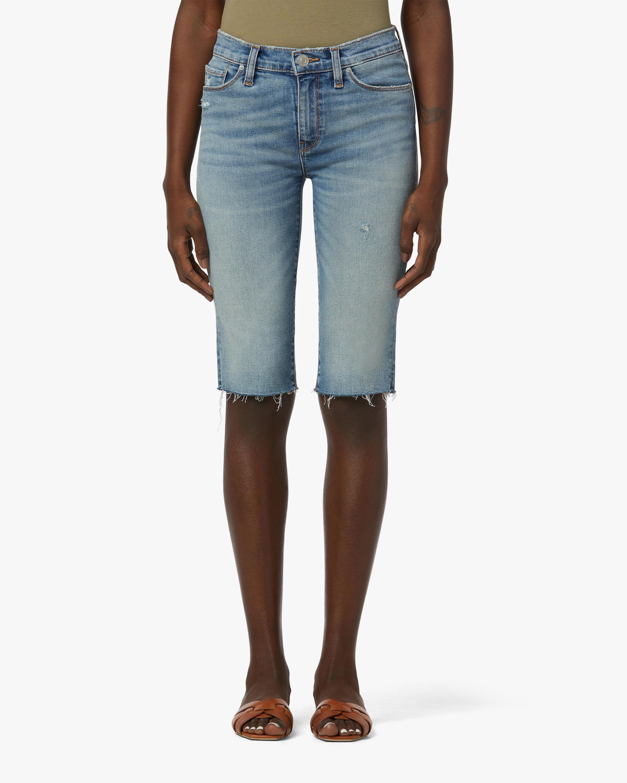 Hudson Amelia Mid-Rise Shorts 0