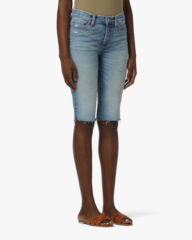 Hudson Amelia Mid-Rise Shorts 1