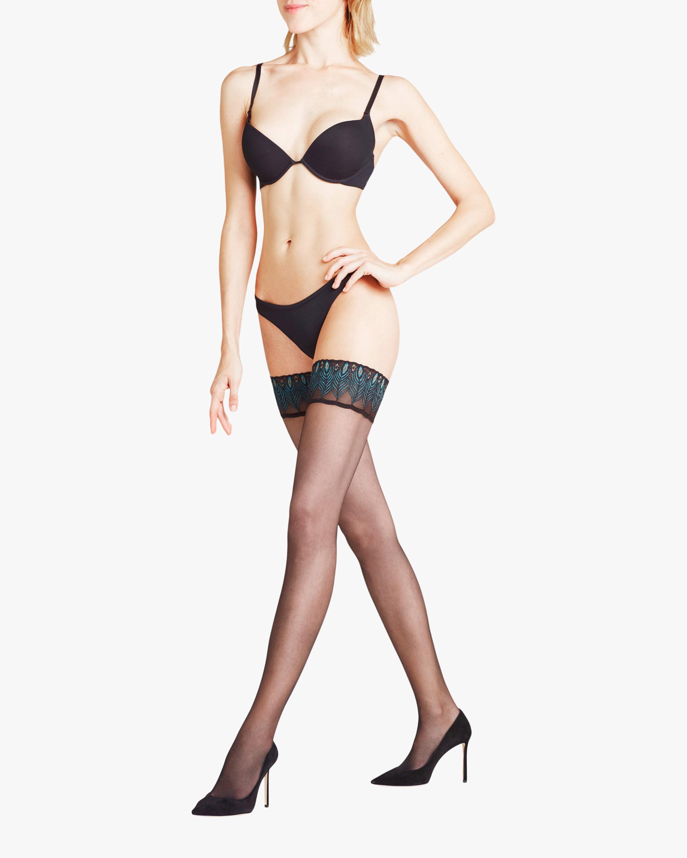 Falke Lunelle 8 Stay-Up Stockings 0