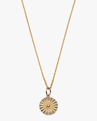 With Love Darling Wheel Pendant Necklace 1