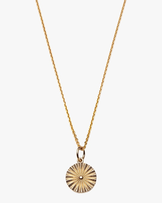 With Love Darling Wheel Pendant Necklace 0