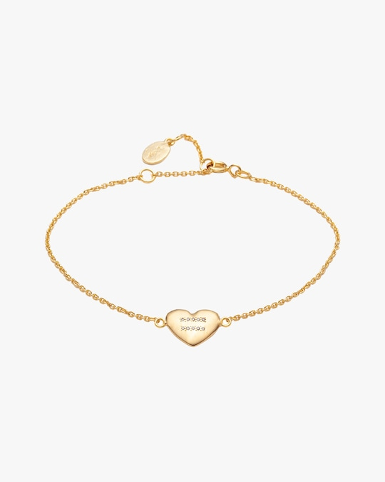 With Love Darling Equality Heart Bracelet 0