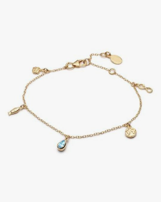 With Love Darling Planet Goals Charm Bracelet 0