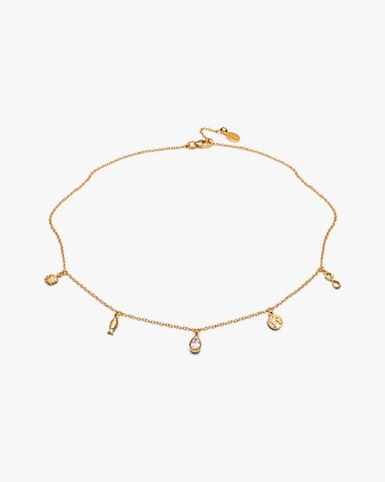 With Love Darling Planet Goals Station Necklace 0