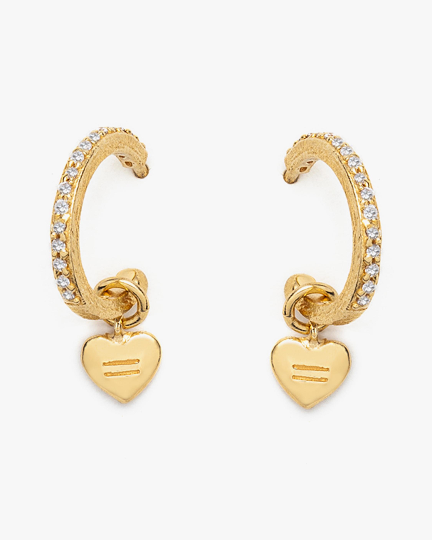 With Love Darling Equality Hoop Earrings 0