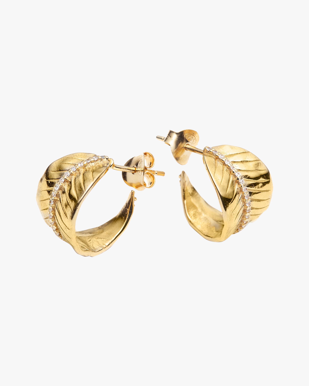 With Love Darling Ashok Leaf Earrings 1