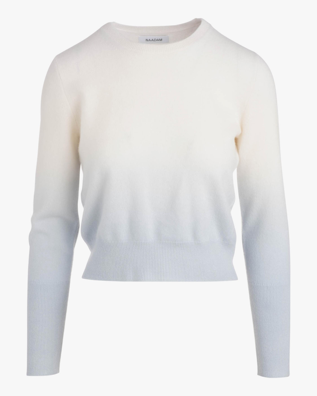 Naadam Ombre Cashmere Crewneck Sweater 2