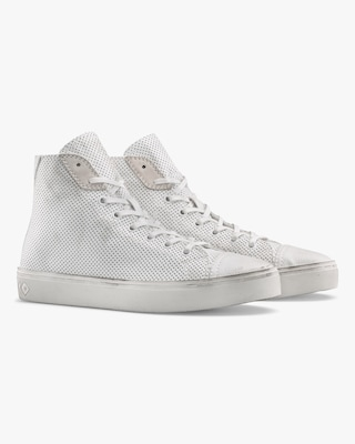 KOIO Court Chalk Perforated High-Top 2