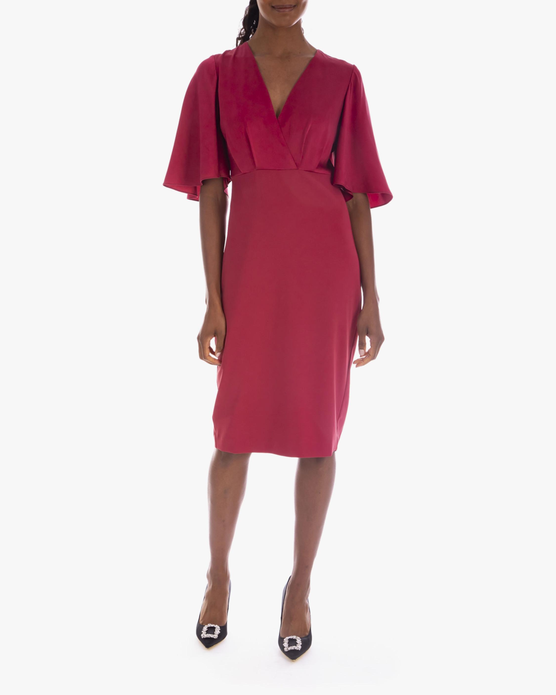 Badgley Mischka Stretch Crepe Day Dress 2