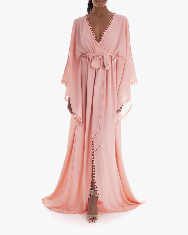 Badgley Mischka Front-Wrap Gown 2