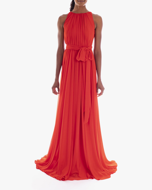 Badgley Mischka Pleated Gown 1