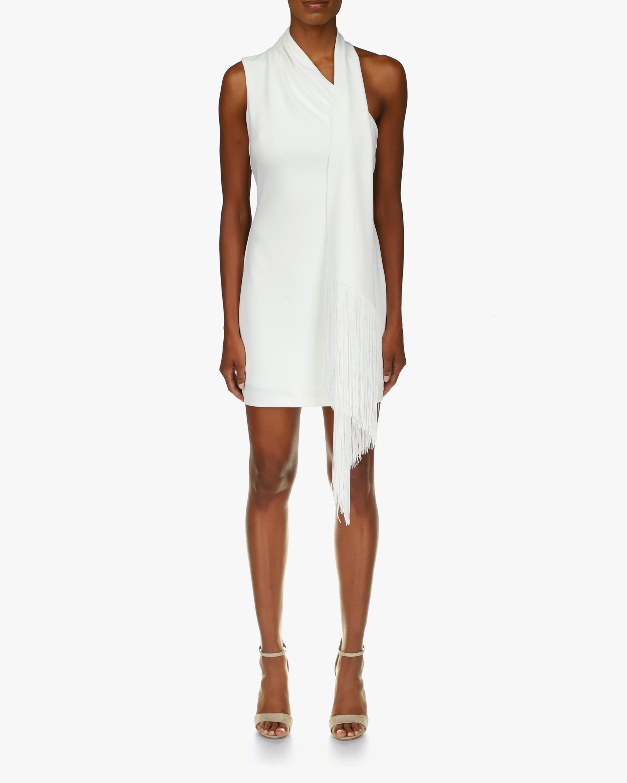 One33 Social Draped-Shoulder Cocktail Dress 1