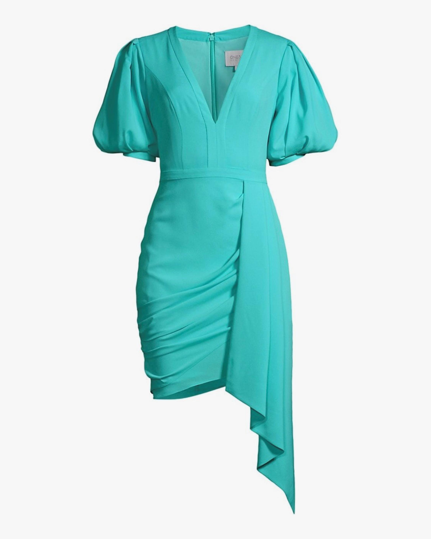 One33 Social Puffed-Sleee Draped Mini Dress 1