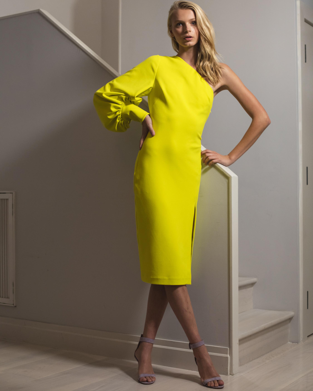 One33 Social One-Shoulder Cocktail Dress 1