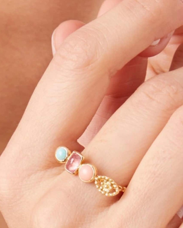 Gaya Trinity Pastel Ring 2