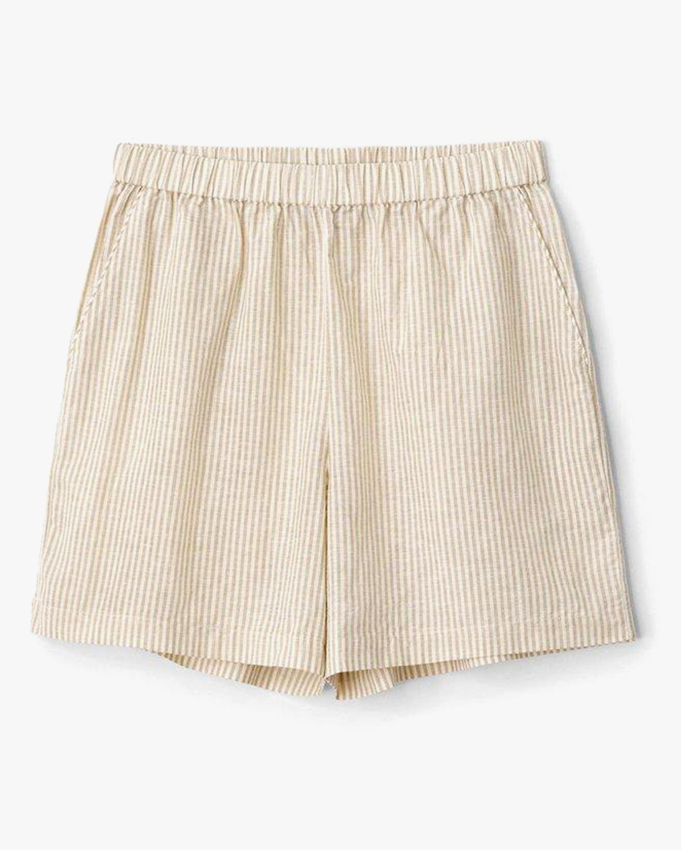 rag & bone Maye Stripe Shorts 0
