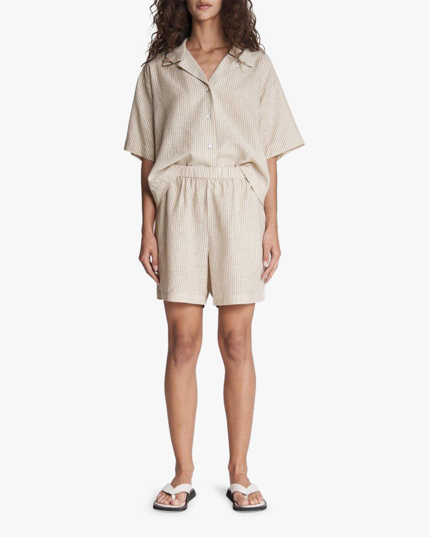 rag & bone Maye Stripe Shorts 1