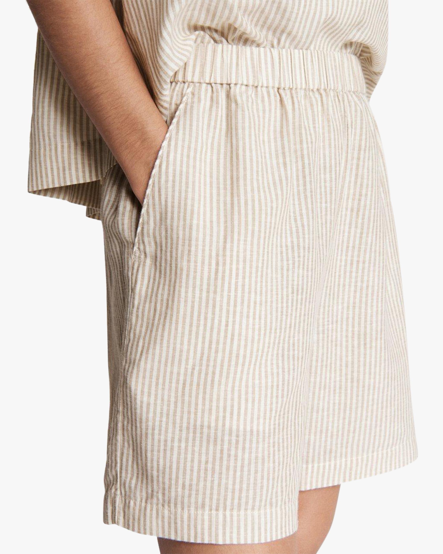 rag & bone Maye Stripe Shorts 4