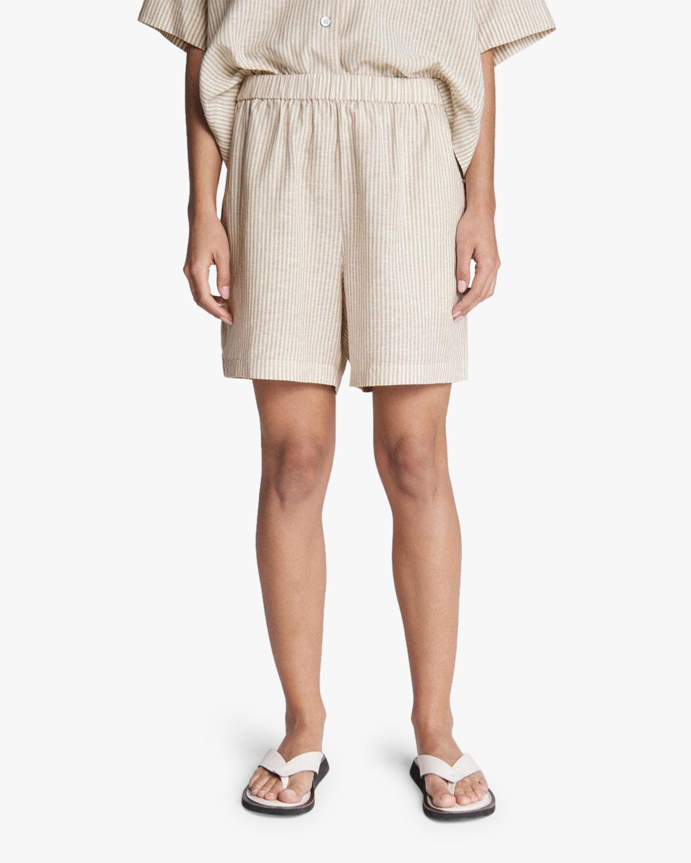 rag & bone Maye Stripe Shorts 5