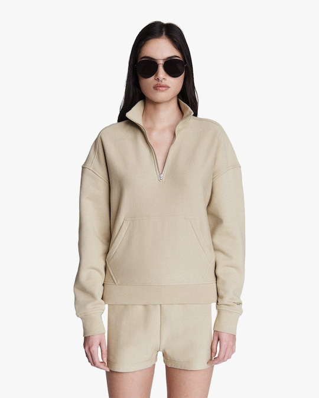 rag & bone City Half-Zip Pullover 1
