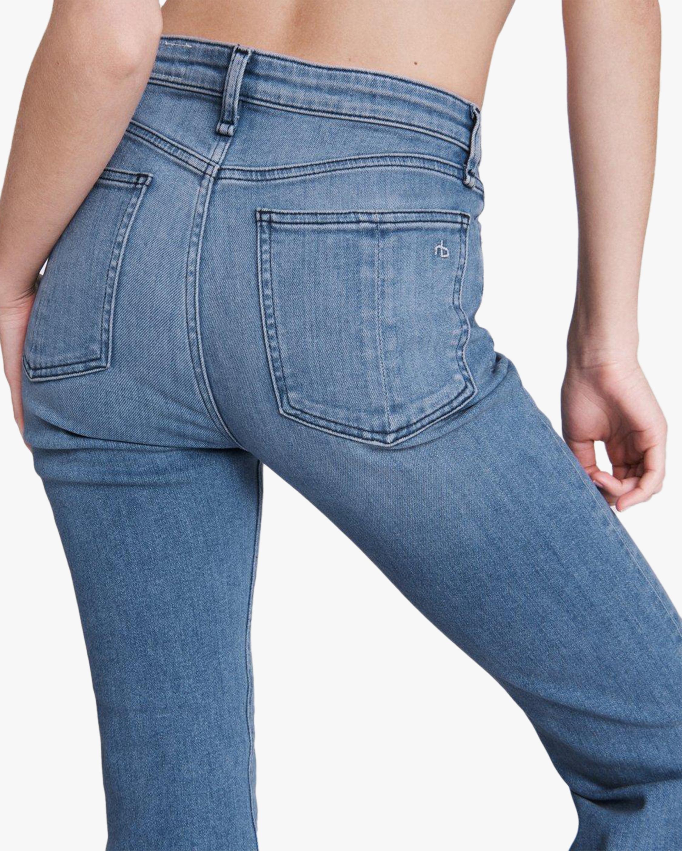 rag & bone Nina High-Rise Ankle Flare Jeans 5