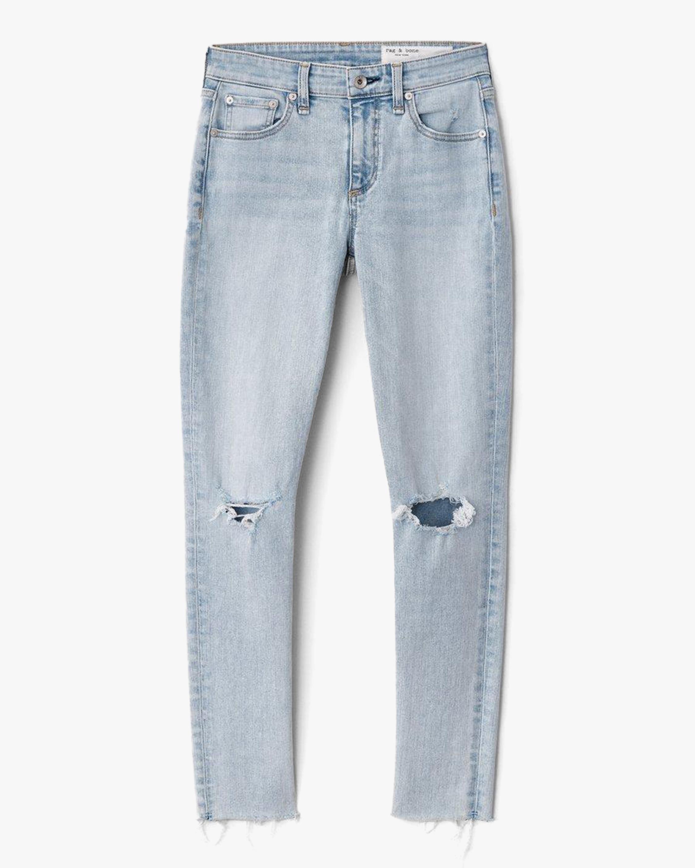 rag & bone Cate Mid-Rise Ankle Skinny Jeans 0