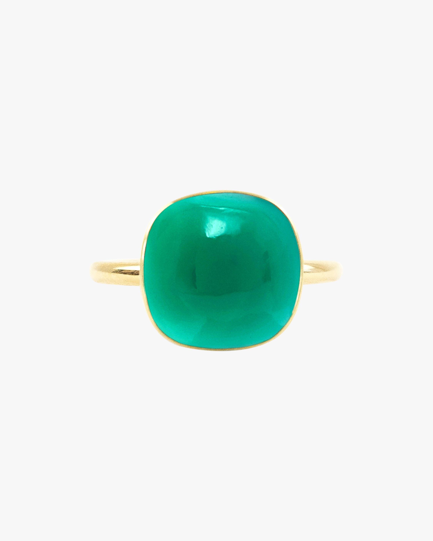 Juliette Du Jacob Green Chalcedony Ring 1