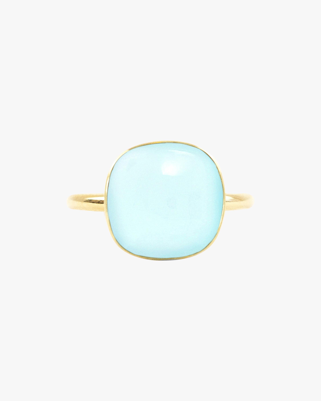 Juliette Du Jacob Light Blue Chalcedony Ring 1